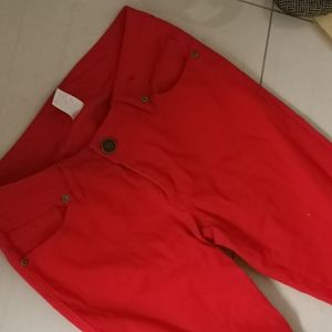 S8 GirlEXPRESS red jeans